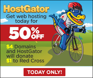 50% OFF Hostgator Hosting